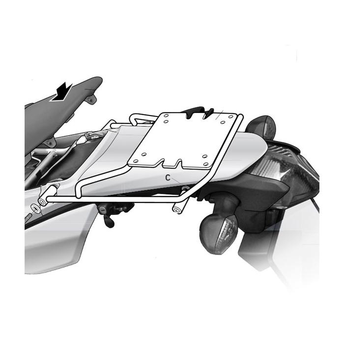 2012 Honda Crf250l Specs Released: Anclajes Shad Anclaje Topcase Honda CRF250L
