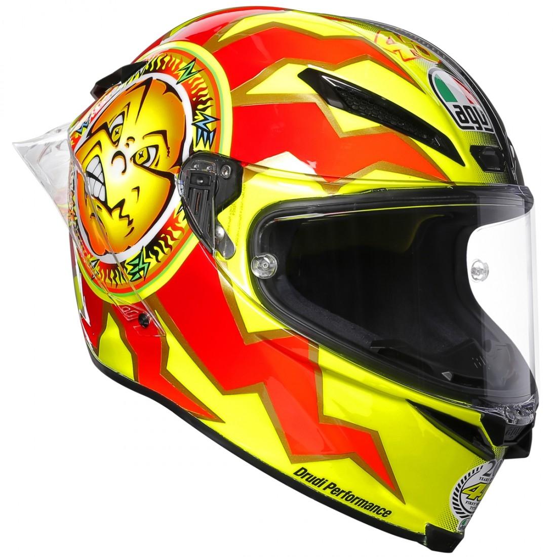 71a3c77c5e5e4 MotoMundi - Cascos Integrales AGV Pista GP R 20 Rossi Aniversario