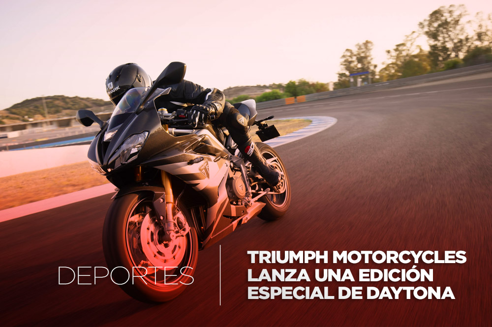 Triumph Motorcycles regresa al supersport con la edición limitada Daytona Moto2 765